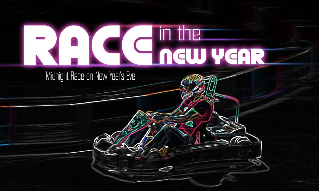 Race in the new year 2018 slider