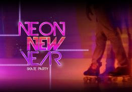 Neon New Year's Eve Skate Party