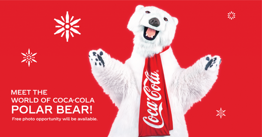 Coca Cola Bear at Xtreme