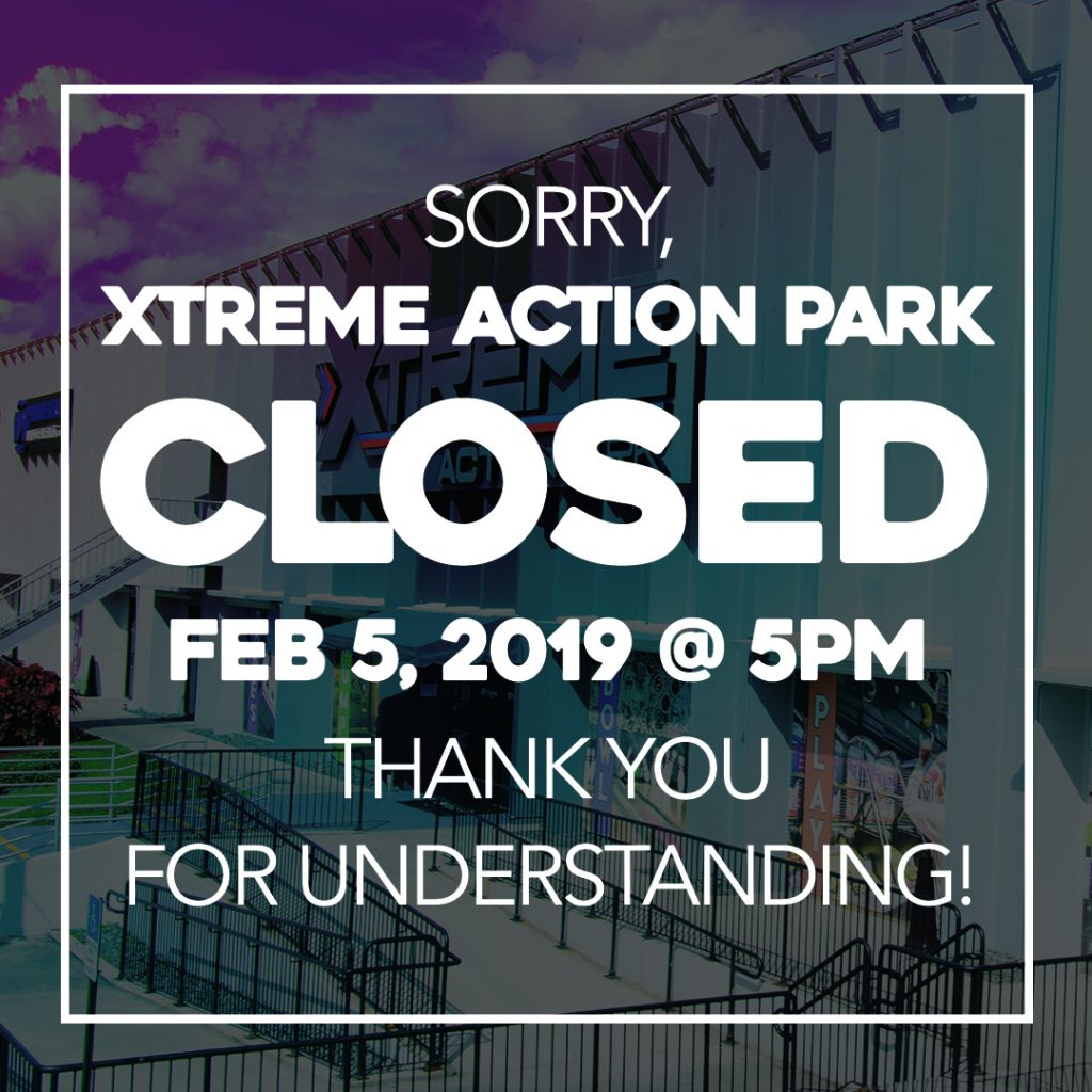 Park Closed at 5pm