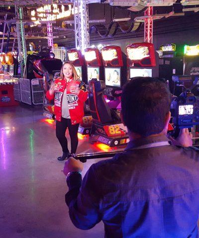 Vibrant Colors in Arcade Video Promo