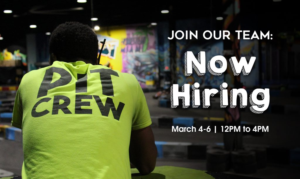 xtreme action park job fair