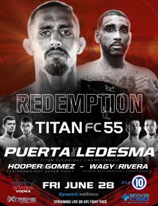 Titan 55 live fight June 28