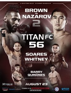Live Titan FC 56 MMA fight