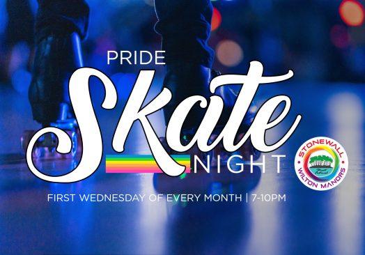 Pride Skate Night 7-10pm