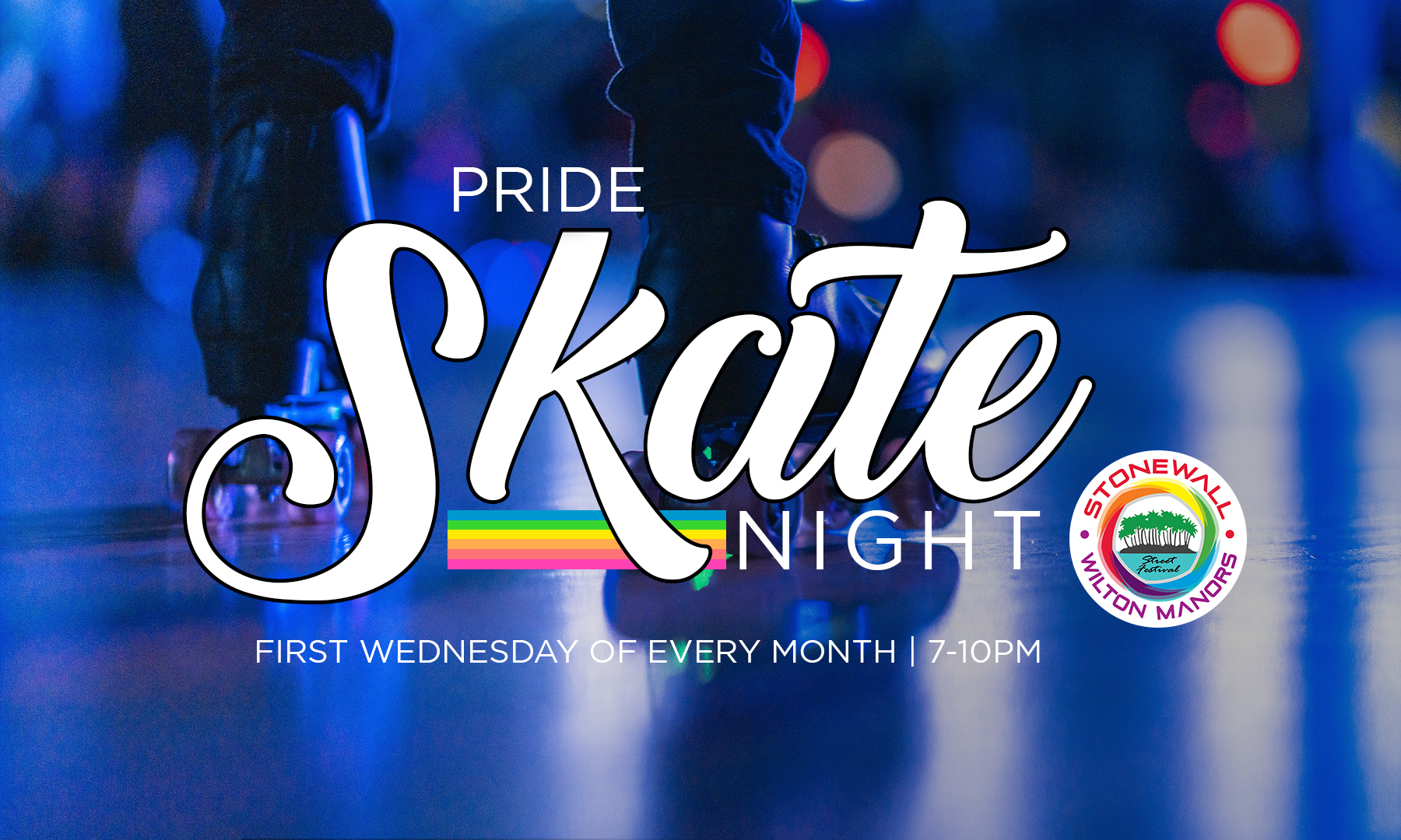 Pride Gay Skate Night 2020