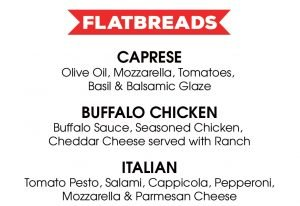 happy hour flatbreads menu