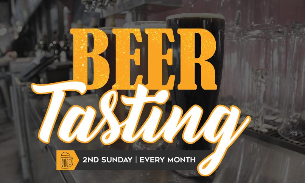 Free Beer Tastings monthly