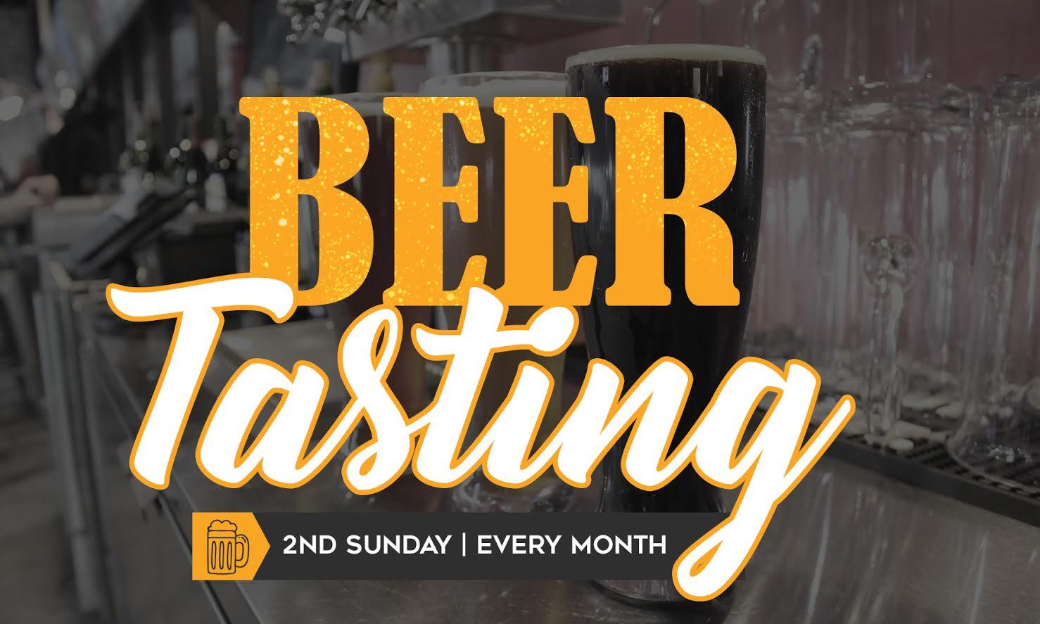 Free Beer Tastings monthly