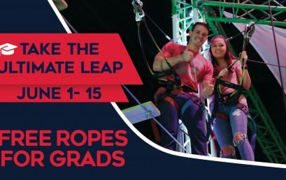 Free Ropes Course for Grads