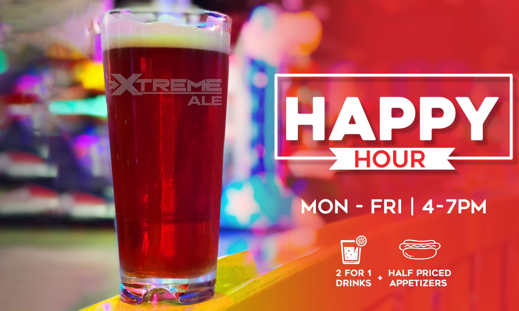 happy hour Mon-Fri 4pm-7pm