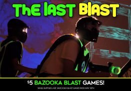 The Last Blast – Laser Tag is Coming