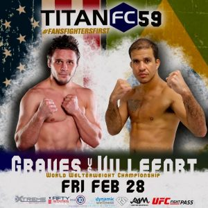 Titan Fight live at Xtreme 59