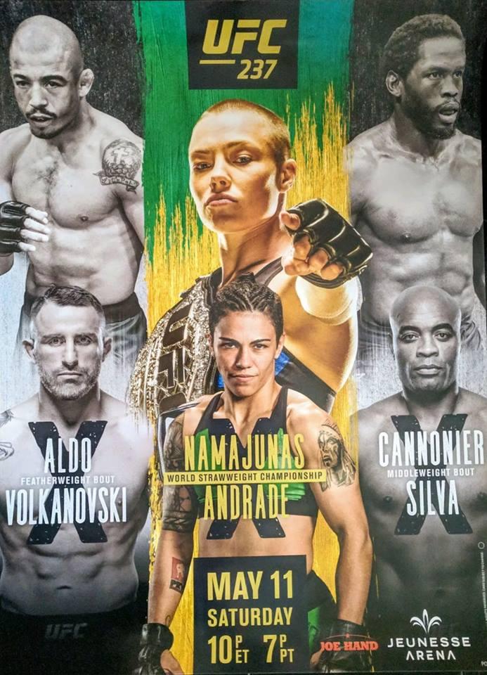 UFC 237 poster