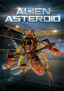 XD dark ride Alien Asteroid game