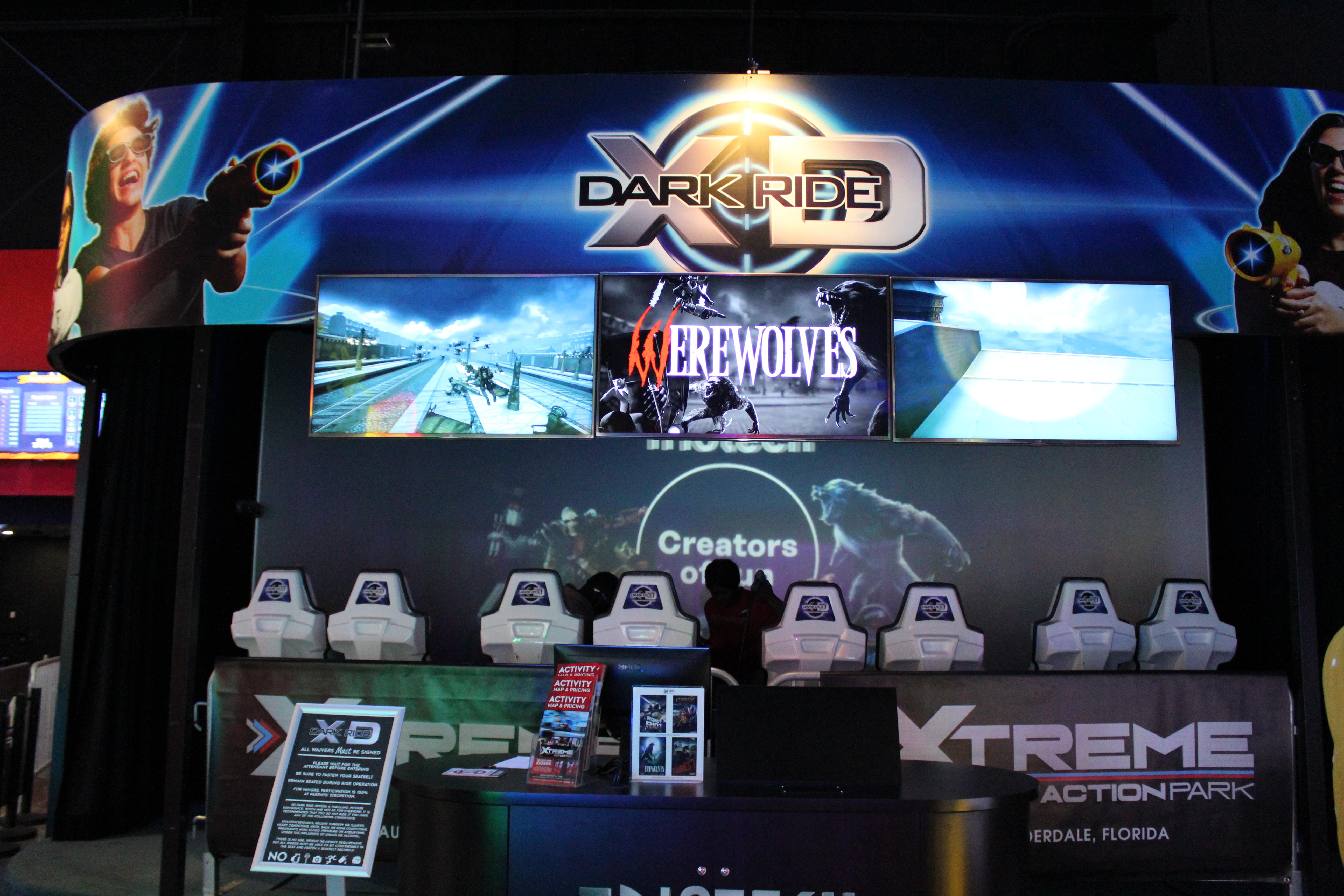 XD Dark Ride Theater Front