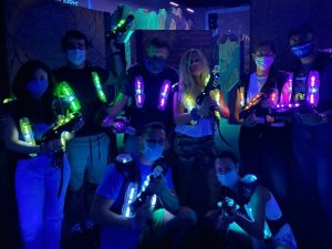 Group Laser Tag COVID