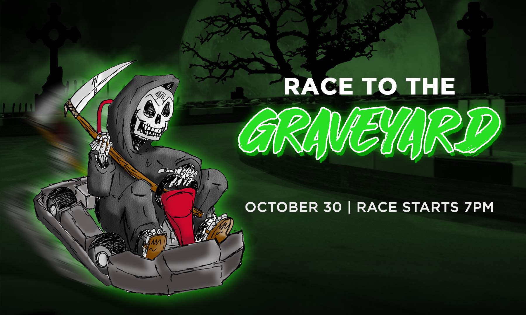 Race to the Graveyard Halloween Race