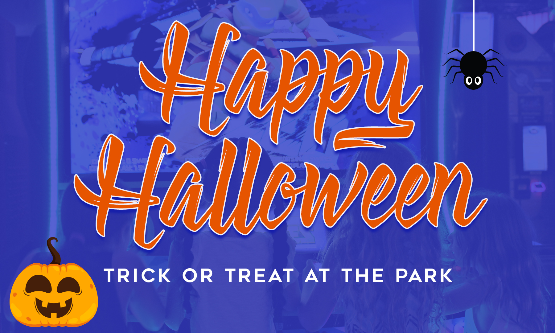 Trick or Treat with us
