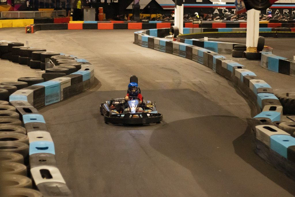 cadet racer on the track