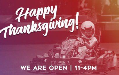 Happy Thanksgiving | Open til 4pm