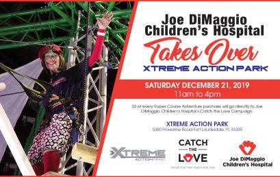 Joe DiMaggio Children's Hospital Park Take Over Day!