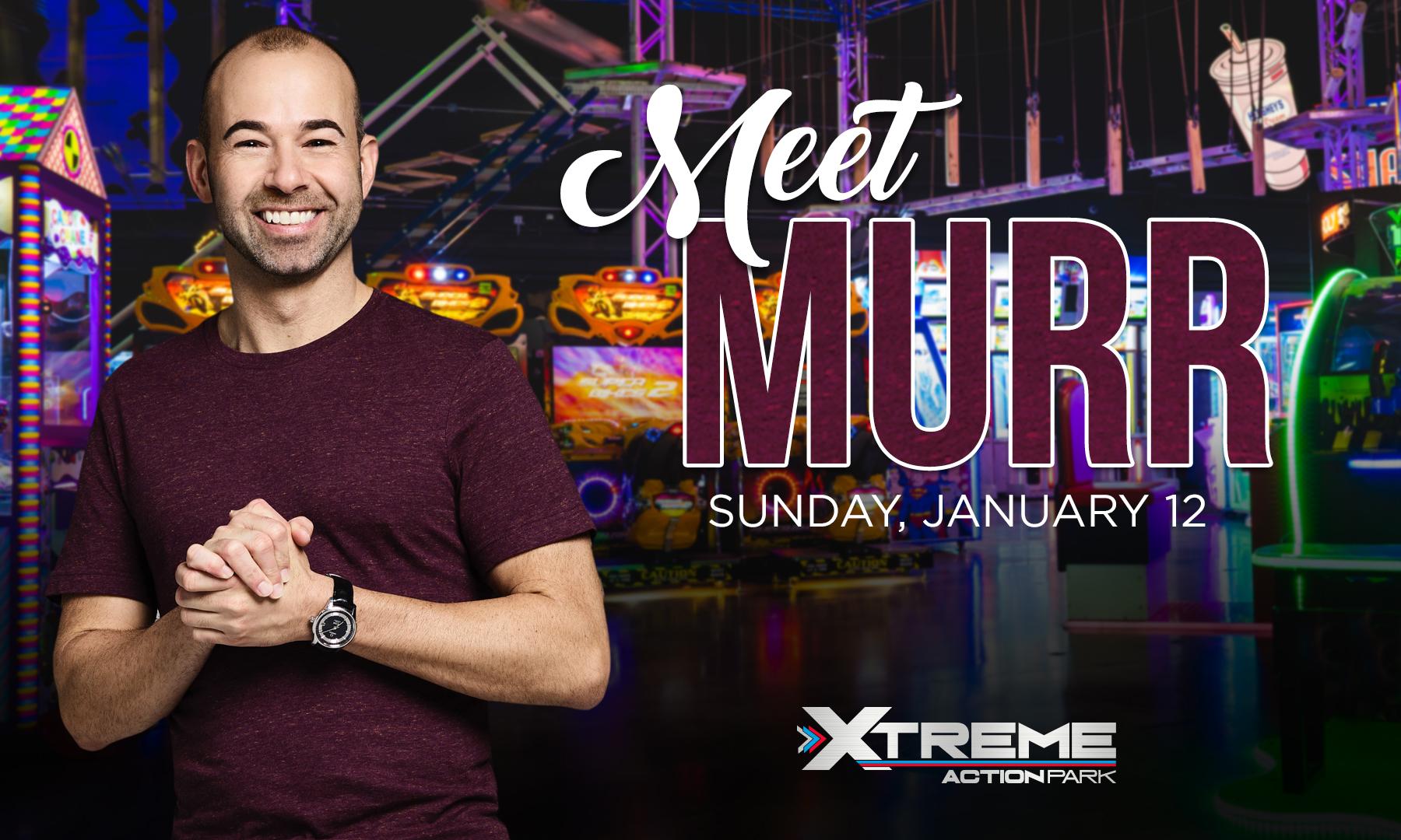 """Meet James """"Murr"""" Murray!"""