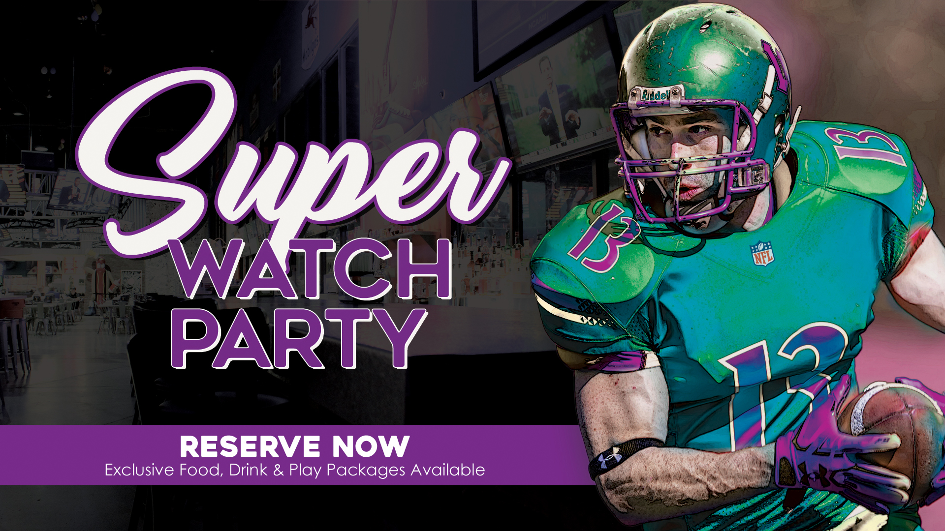 It's a Super Watch Party – See the Super Big Game Bowl 54 in Fort Lauderdale