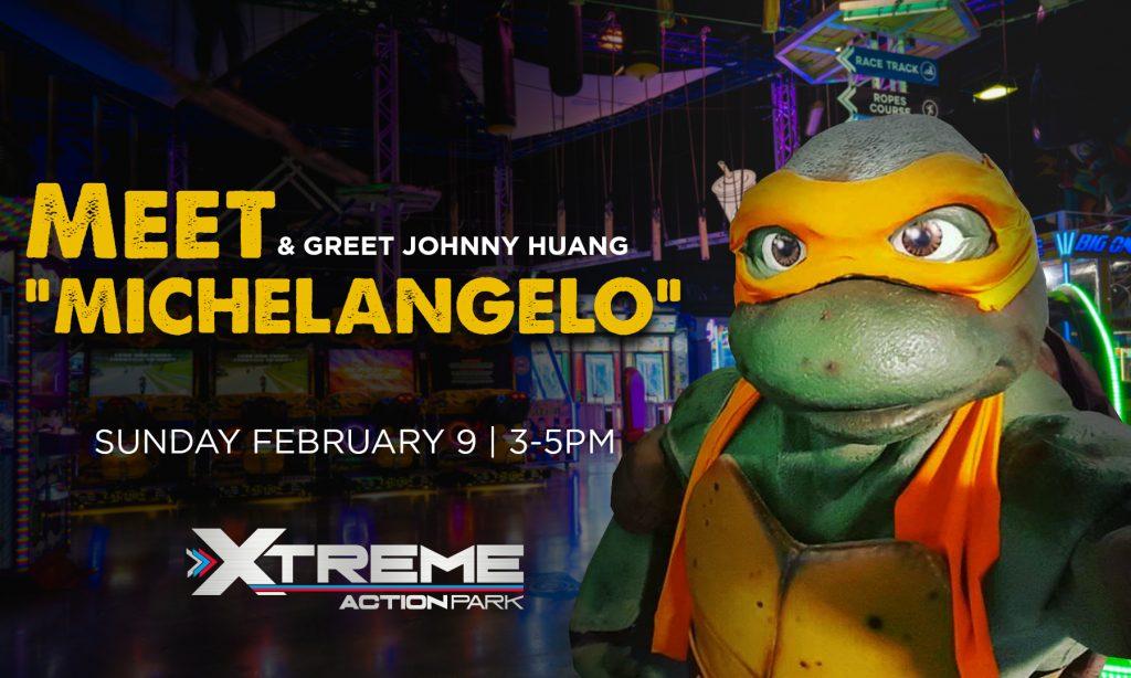 Meet & Greet with a Ninja Turtle