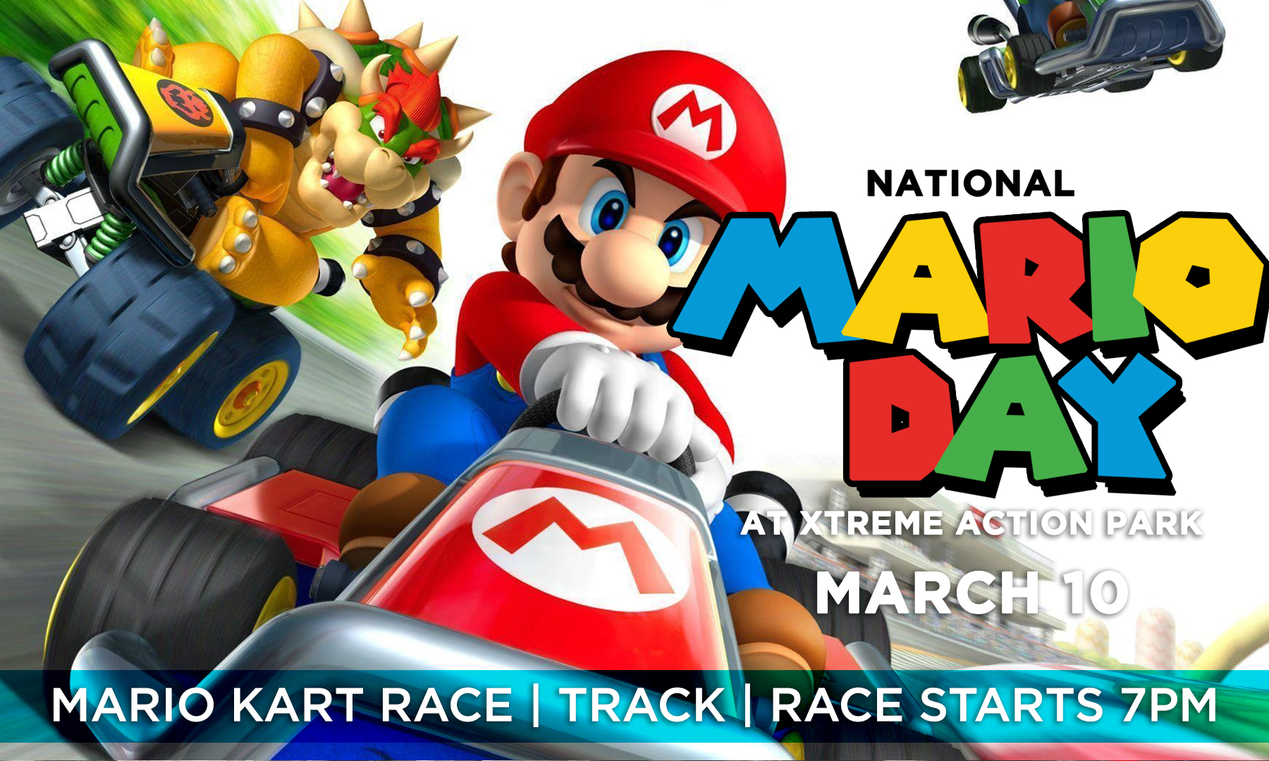 National Mario Day at the track