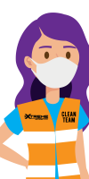 clean team vector