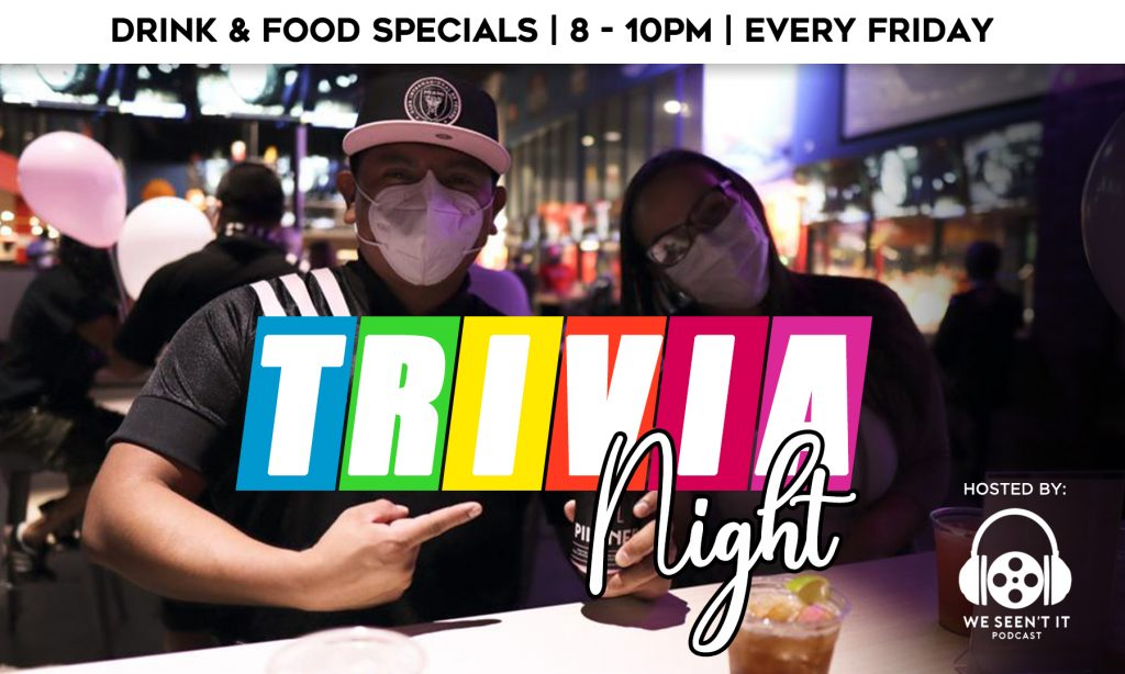 Trivia Night on Fridays at the Bar