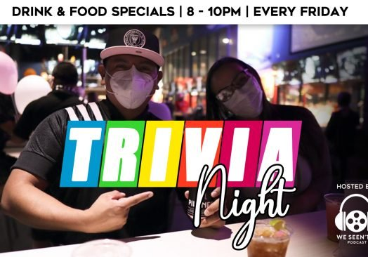 8pm Friday Trivia Night at The Pit Bar