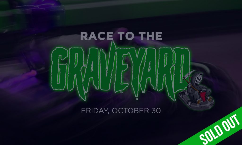 Race to the Graveyard is sold out