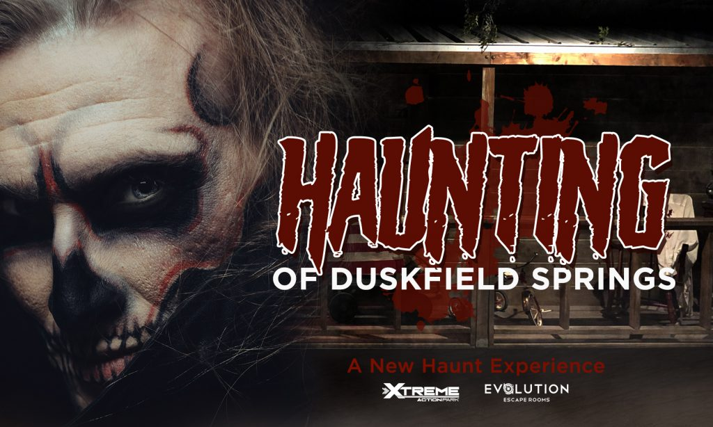 Haunted House inside Xtreme Action Park