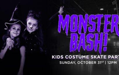 Monster Bash Kids Halloween Skate Party