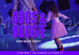 Boos & Boogie Kids Halloween Skate Party