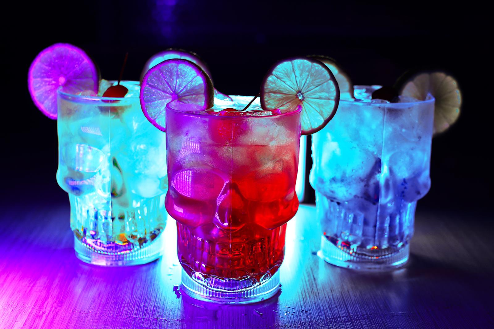 Skull Coctail Drinks for Halloween