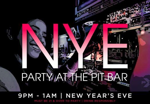 NYE Party at the Pit Bar