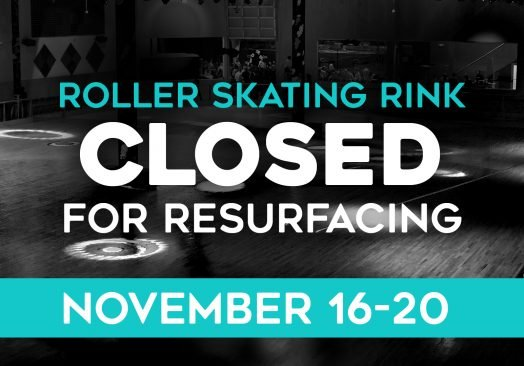 Roller Rink Closed for Resurfacing