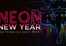 Neon New Year's Eve Skate Party 2021