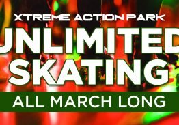 Unlimited Skating in March