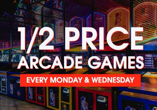 Half Price Arcade Games