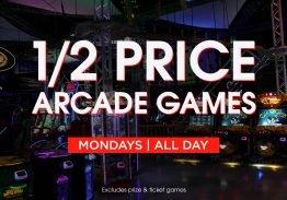 Half Price Arcade Games at the Park