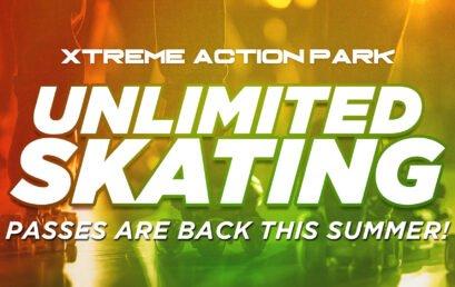 Unlimited Skating is Back for Summer