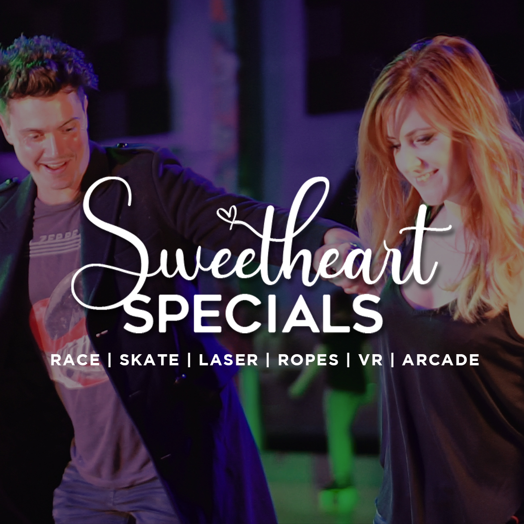 Sweetheart Specials on Valentines at Xtreme Action Park