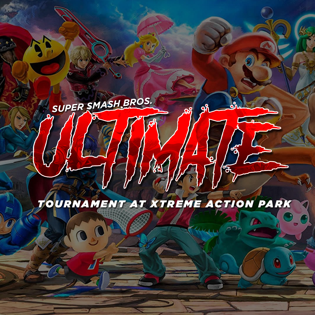 SSBU Tournament every other wednesday at Xtreme Action Park