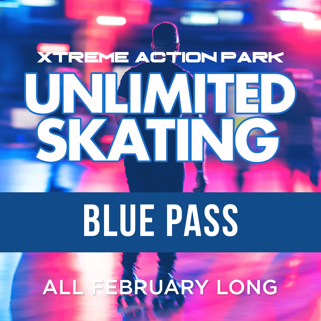Blue Pass - Unlimited Skating in February
