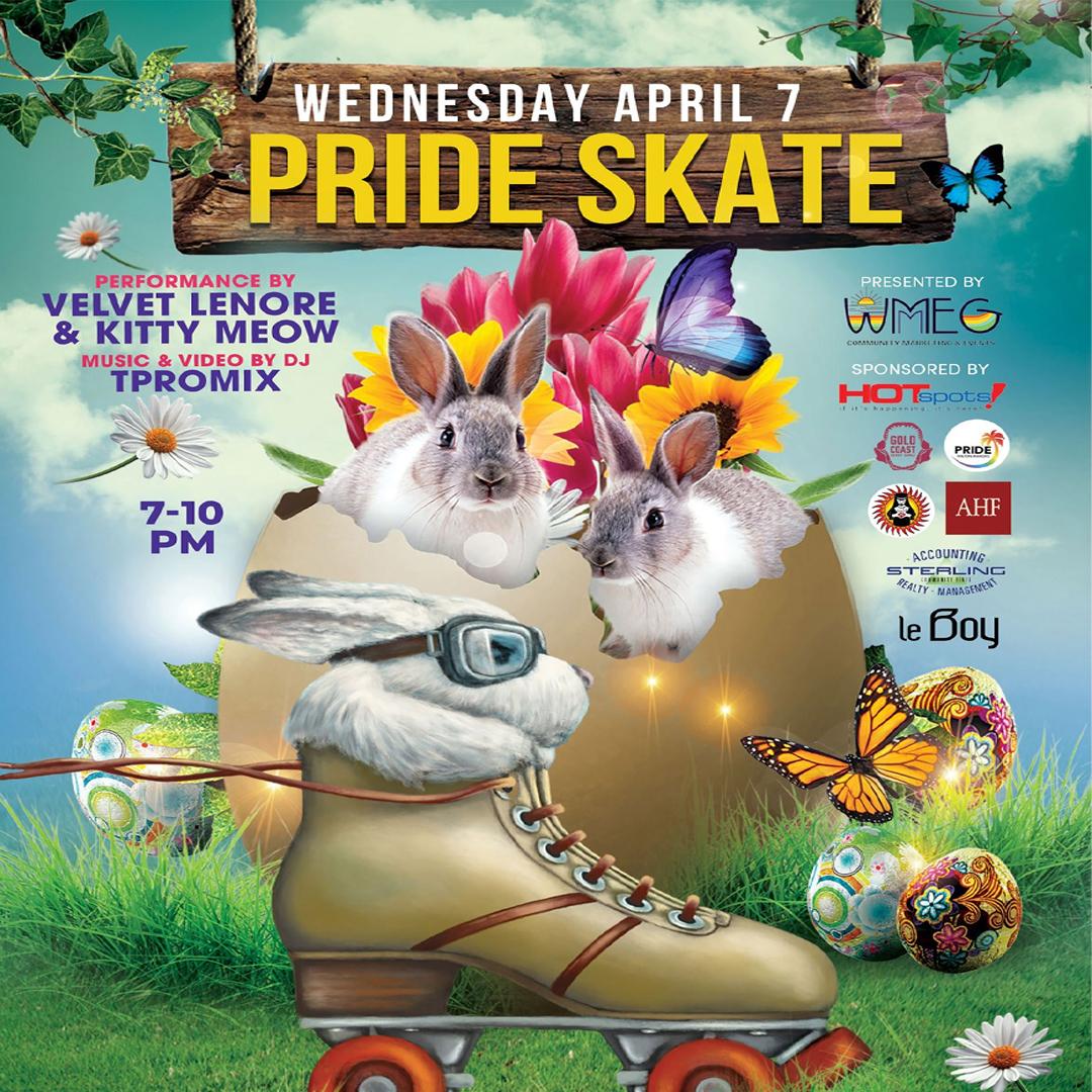 Pride Skate at Xtreme action park