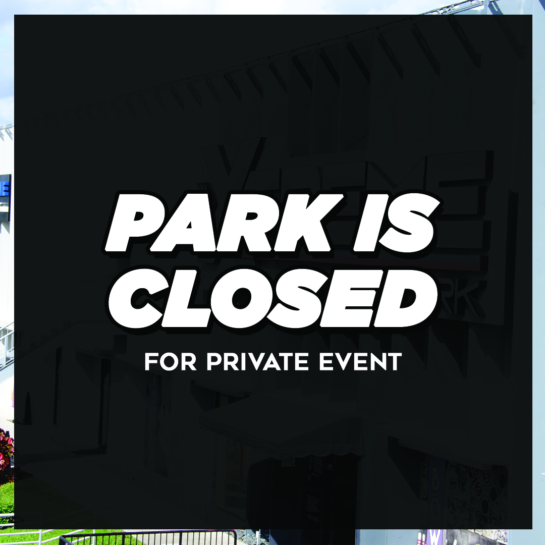park closed for private event on September 20